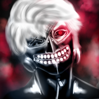 Tokyo Ghoul by ArconteNotturno