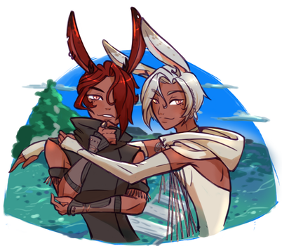 Bunny brothers by Atobe333
