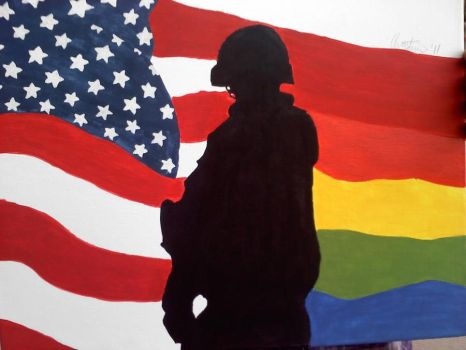 LGBT Soldiers by Madre-suicide