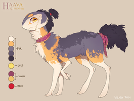 Haava reference sheet by VlLHO
