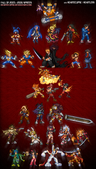 fall of 2005 - 2006 sprites by Hearteclipse
