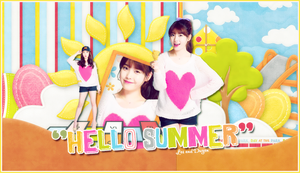 Collaborate Les and Duyen  HELLO SUMMER by yenlonloilop7c