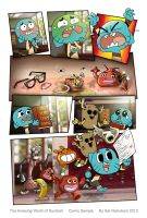 Gumball Sample Comic by Kat-Nicholson
