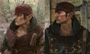 Cosplay and Video Game-Iorveth by BunnyValtir