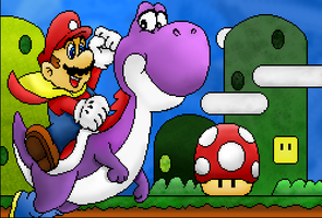 Mario Paint: Revamped by shadowyoshigamernerd