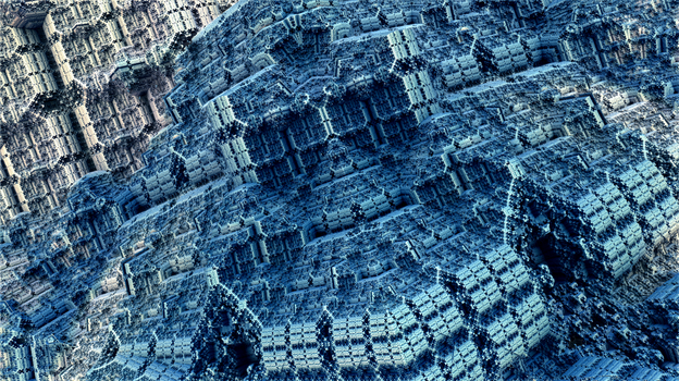 A Temple in the rocks by singingwithfractals