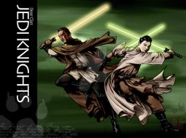 Jedi Brothers by molepunch