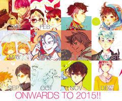 2014 ART SUMMARY by euphorics