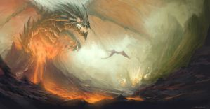 Christian Boe - Dragon Rising by ChristianBoe