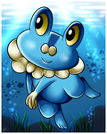 Froakie by Sweetochii