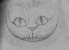 Cheschire Cat by tite-pao