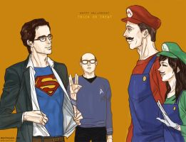 white collar : halloween by beautiful-burnout