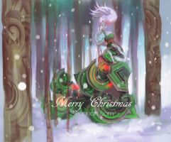 Merry Christmas 2012 by HowlSeage
