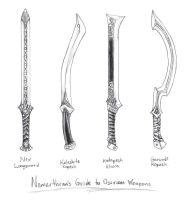 Osirion Swords by butterfrog