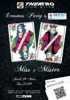 Miss and Mister Party by smallbean