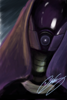 Tali Zorah Ipod Touch Painting by IronHard