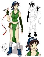 Mai - Design Sheet by chisa