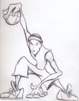 StreetBall, rough version by SINGLETON930