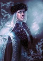 Snow Maiden by Naihaan