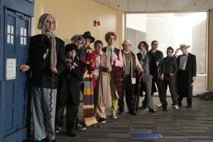 Doctor Who Photoshoot: All the Doctors by StrangeStuffStudios