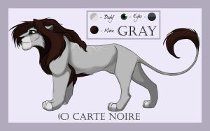 Reference: Gray by CarteNoire