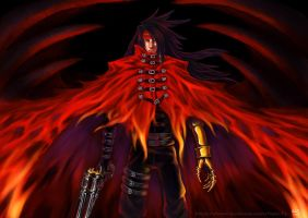 Fanart Vincent Valentine - Final Fantasy 7 by nalintj