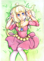 Zelda windy spring by morwene