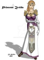 Princess Zelda - SSBB by Seterace