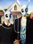Rabbit Gothic by wytrab8