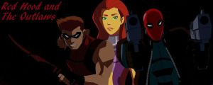 Young Justice Red Hood and The Outlaws by OutlawRedHood