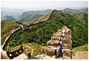 Great Wall 3, The Lookout by Irreality