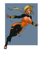 AQUAGIRL ANIMATED by CHUBETO