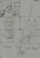 Youre  not forever alone sketch by zairanicole