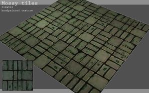 Mossy tiles by Redecorator