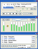 Luna Element for Winamp by neotool