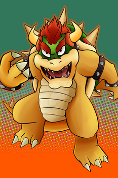Veteran - Bowser by AndrewMartinD