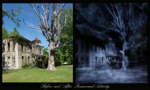 Before and After Paranormal Activity by rsiphotography