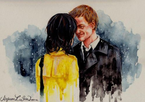 How I met you mother - Barney+Robin by MeghannSnow