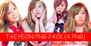 Taeyeon PNG pack by miyeonkim2002