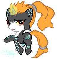 Midna Filly by Midnameowfries