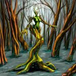 Swamp Dryad by LordDracoArgentos