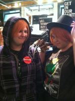 The Hitachiins Visit Hot Topic by TheRealTDAGeena