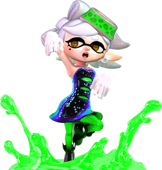 [Cycles] Marie - Splatoon by MaxiGamer