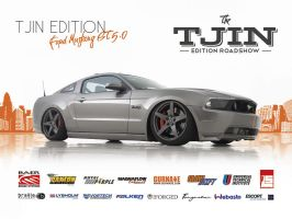 Tjin Edition Ford Mustang Poster by JoshCloud