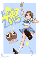 Happy New Year 2015! by E-Magnus