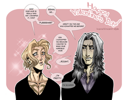 Valentines Day- Ivan x Vincent by Carromic
