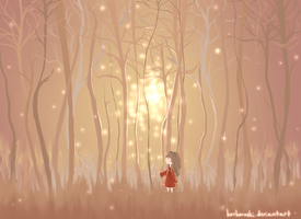 Child Searching for a Star by korkoroshi