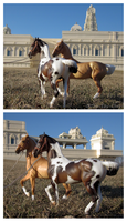 Breyer - At The Temple by The-Toy-Chest