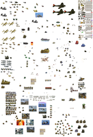 Military Sprites by Tango458