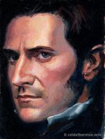 John Thornton in oil by zeldat